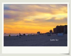 【小虫摄影】夕阳大西洋城,美