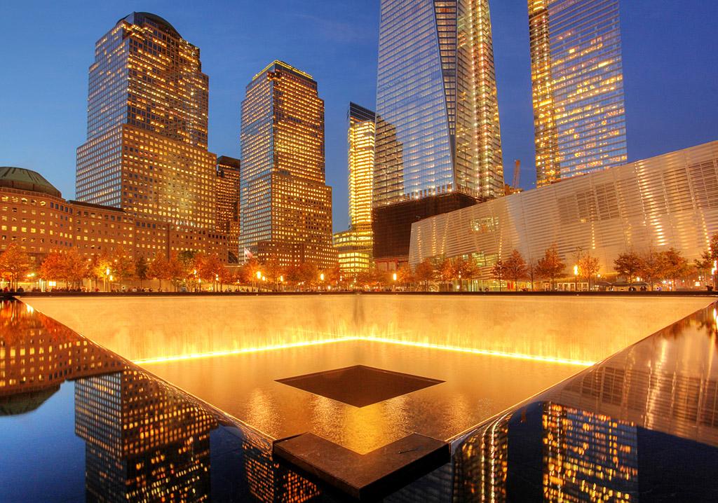 【世和摄影】初访9/11国家纪念馆广场_图1-1