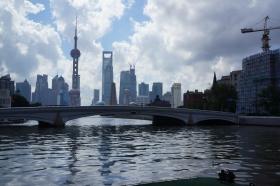 上海乍浦路桥(摄影原创)