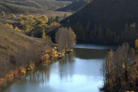 无定河畔的秋色