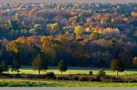 纽约上州秋景