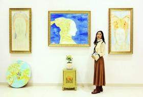 女画家和新画室