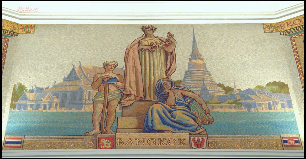 【原創】上海浦發銀行的總部之八角亭與壁畫(攝影)_图1-7