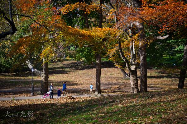 【火山光影】 纽约中央公园秋色_图1-11