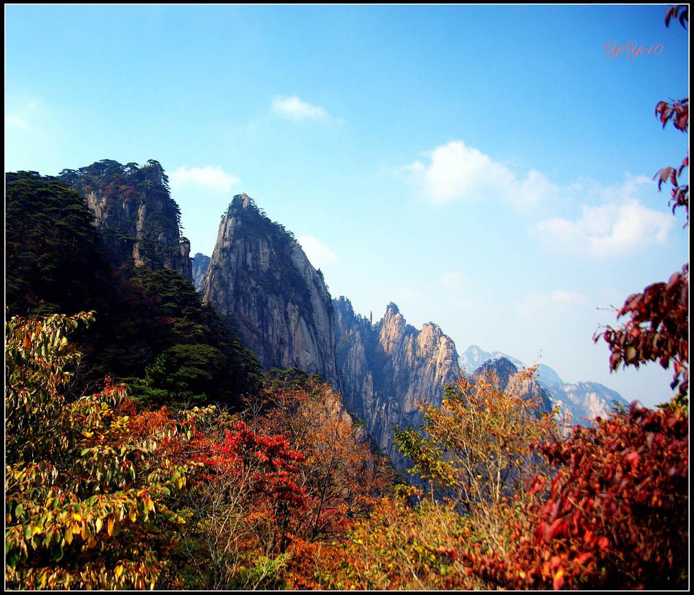 【原創】yiyi10的鏡頭里的黃山(攝影)_图1-4