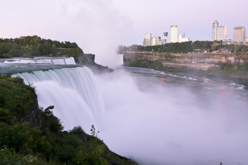 (原创摄影)尼亚拉加瀑布的清晨_图1-5