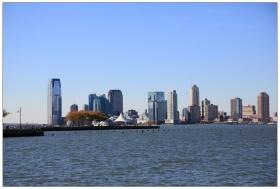 飓风后的曼哈顿西河