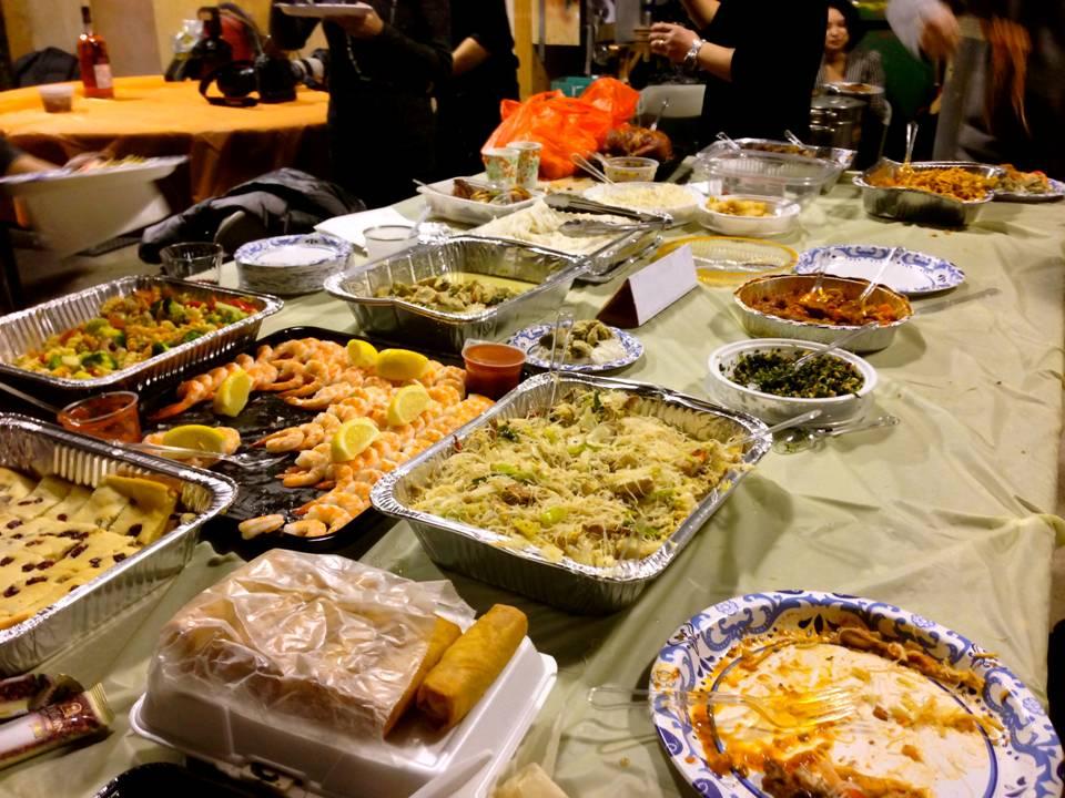 感恩聚餐在村上_图1-6
