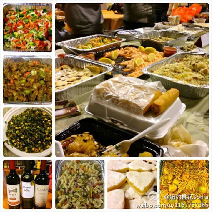 感恩聚餐在村上_图1-1