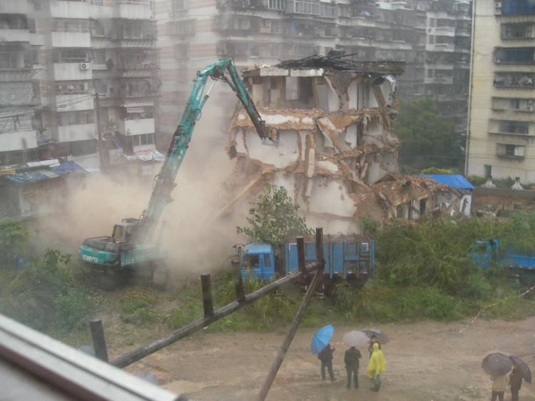 福建省福卅市近日掀起強拆农民宅基房!_图1-1