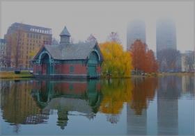 【star8摄影】湖中雾色