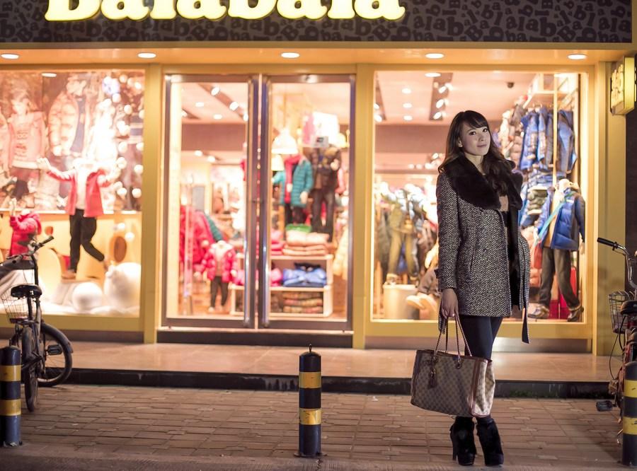 一个人的夜---临沂女孩张夏街拍_图1-6