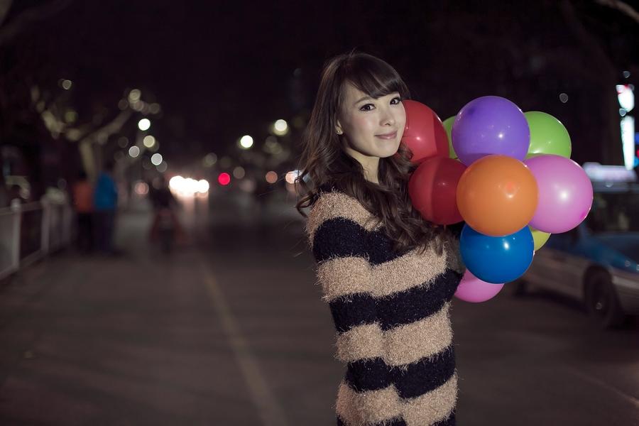 一个人的夜---临沂女孩张夏街拍_图1-15