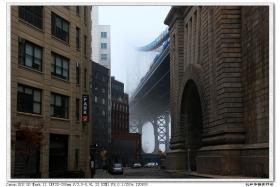 【盲流摄影】雾锁纽约