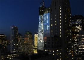 曼哈顿下城夜景