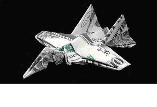 他折叠纸币,他住在垃圾车里! - caorunfang - 暗香浮动
