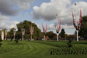 英国自由行 之 3 白金漢宮閱兵