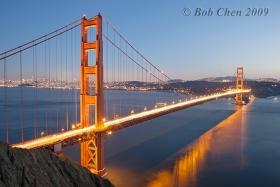 俺镜头下的金门大桥
