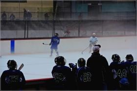 【star8攝影】雾色中的冰球赛