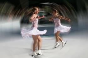 冰上芭蕾。是我攝影之中最喜爱