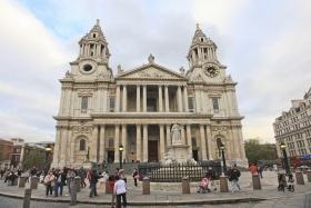 英国自由行 之 7 倫敦聖保羅大教堂