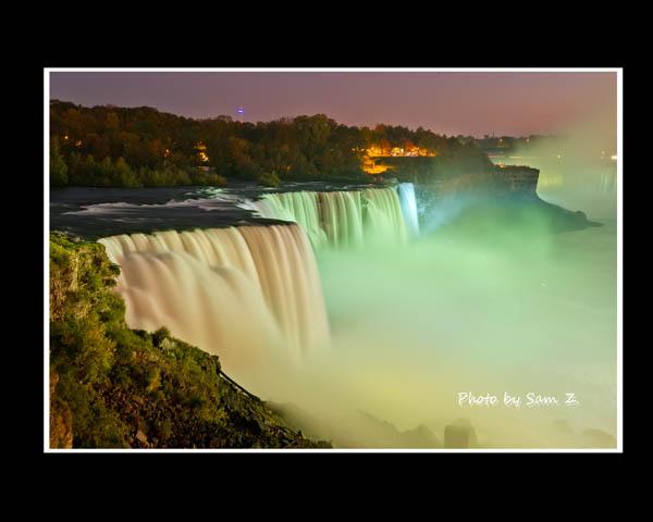 Colorfull Niagara Falls_图1-5