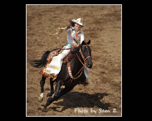 疯狂的牛仔竞技表演秀 之 一:胭脂 与 马_图1-5