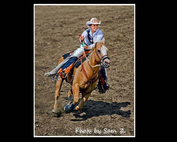 疯狂的牛仔竞技表演秀 之 一:胭脂 与 马_图1-3