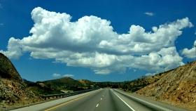 行走在天边之路-莫哈维大沙漠