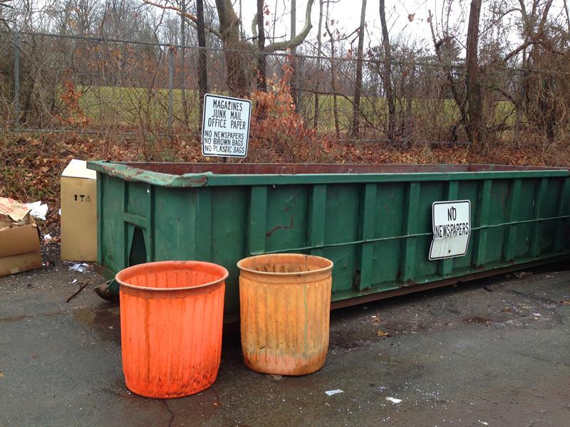 美国街边垃圾桶