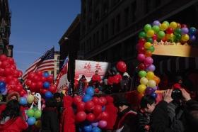 圖博-紐約華埠農曆新年大遊行