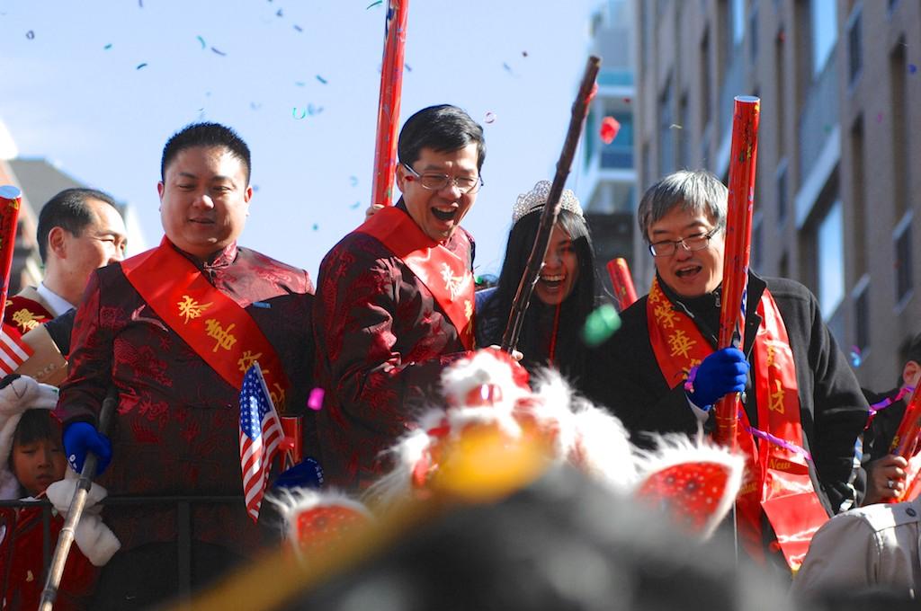 圖博-紐約華埠農曆新年大遊行_图1-3