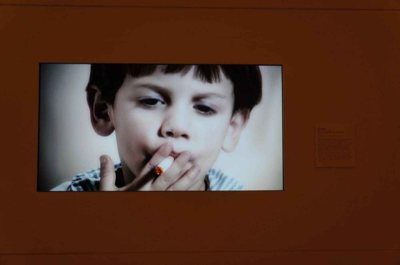 [jiejoy]大都会博物馆---吸烟的小孩_图1-1