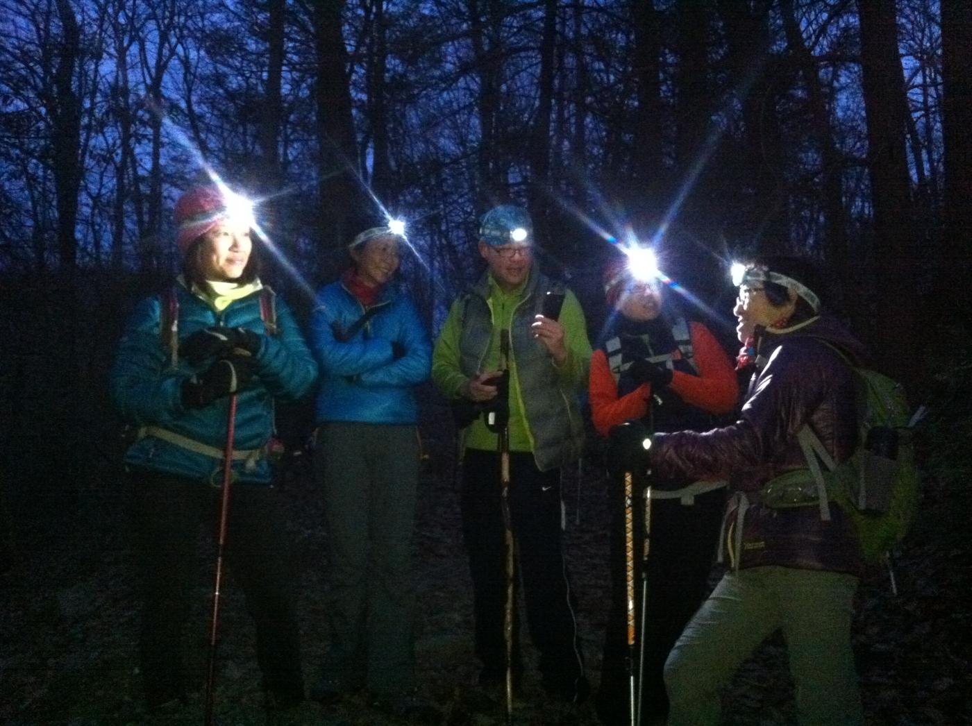 酷寒冬夜,翻山嶺,過溪河---夜山行之2 / Tuxedo/Sebago -- Night Hike Take 2 ... .. ..._图1-8