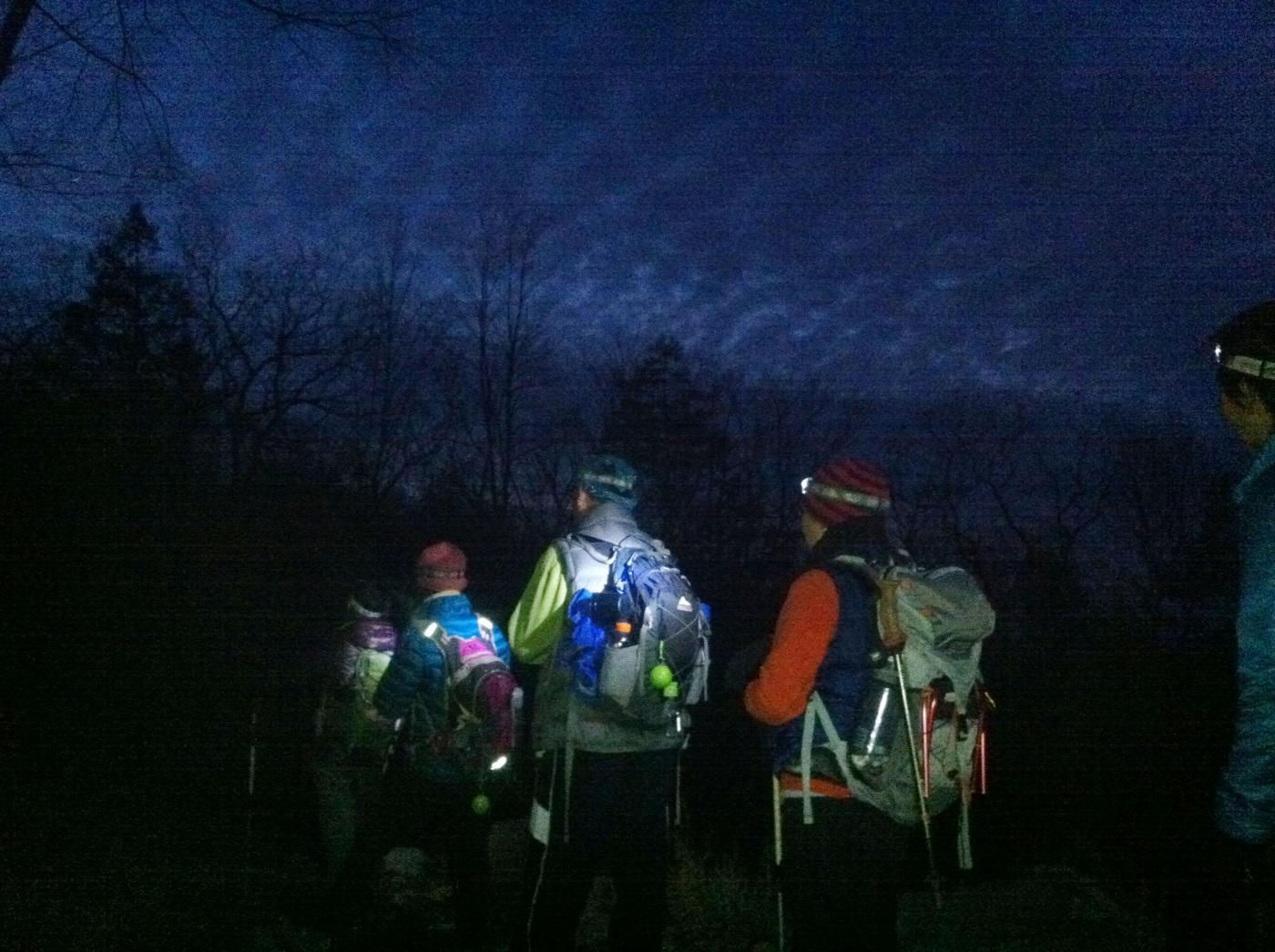 酷寒冬夜,翻山嶺,過溪河---夜山行之2 / Tuxedo/Sebago -- Night Hike Take 2 ... .. ..._图1-1