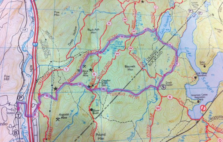 酷寒冬夜,翻山嶺,過溪河---夜山行之2 / Tuxedo/Sebago -- Night Hike Take 2 ... .. ..._图1-3