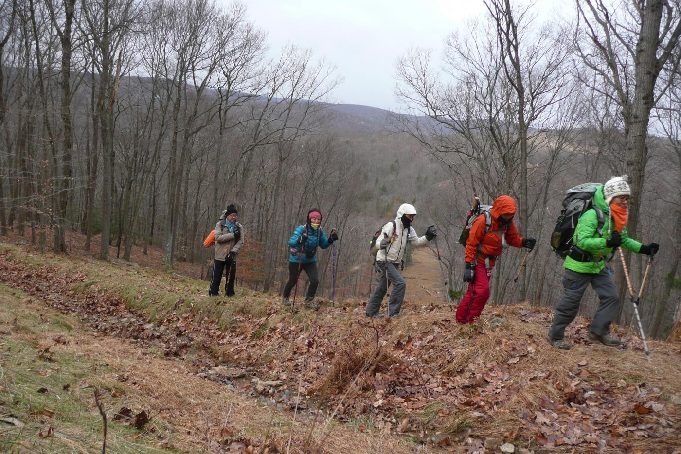 酷寒冬夜,翻山嶺,過溪河---夜山行之2 / Tuxedo/Sebago -- Night Hike Take 2 ... .. ..._图1-6