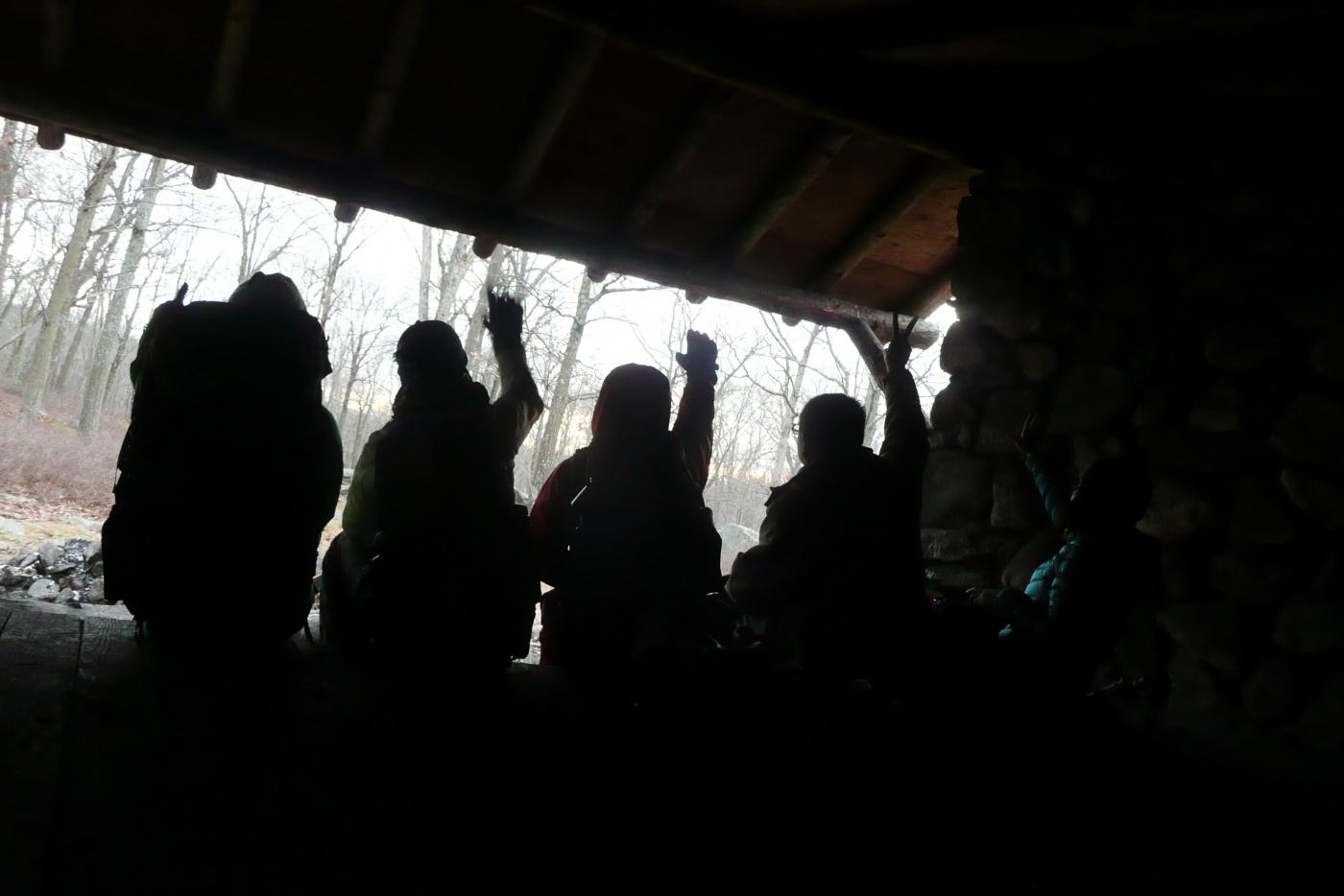 酷寒冬夜,翻山嶺,過溪河---夜山行之2 / Tuxedo/Sebago -- Night Hike Take 2 ... .. ..._图1-4