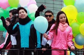 2013年紐約中國農曆新年花車大遊行