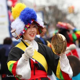 [Ken Lee] 春节游行上阵容强大的韩国军团