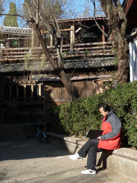 张广才教授赴云南写生采风_图1-2