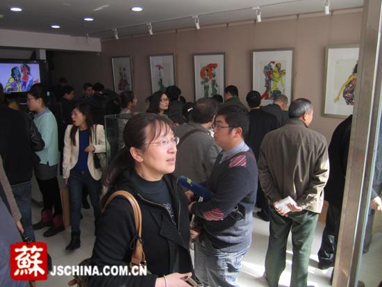 张广才云南写生作品走进南京社区 展现民族丽人曼妙身影_图1-3