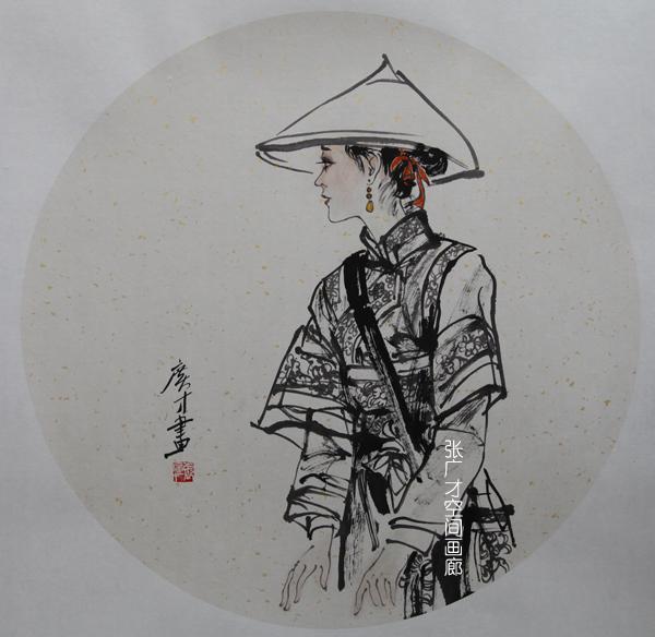张广才云南写生作品走进南京社区 展现民族丽人曼妙身影_图1-10
