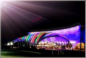 【star8拍攝】夜光灯影的彩虹