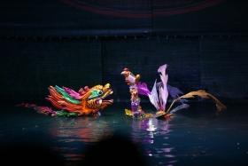 越南水上木偶戏