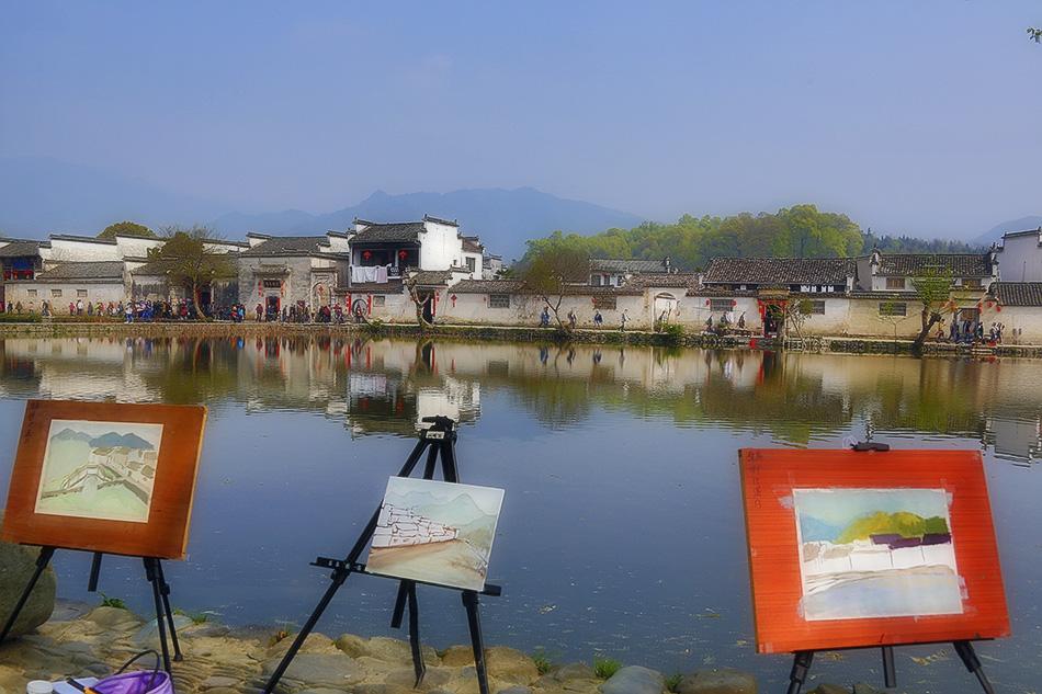 画意宏村---HDR模式拍摄宏村_图1-4