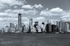 【火山光影】 纽约港湾