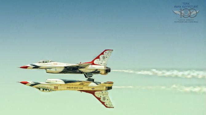 爱拍飞机-土耳其空军100周年庆奶牛, 论坛里也有和环球穷游小黎一样喜欢拍飞机的吗? ..._图1-10