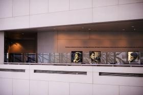 (原创摄影)JFK图书馆的几何图形