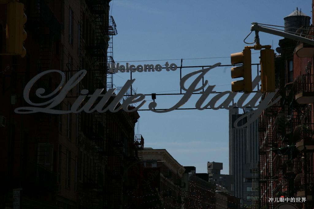 """纽约曼哈顿""""小意大利""""街_图1-2"""
